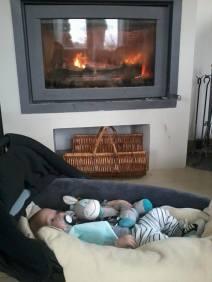 Endormi après la séance